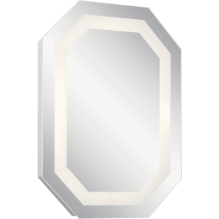 Kichler 86002 Steel 32 X 24 Geometric Flat Glass Frameless Wall Mounted Bathroom Mirror 3000k Lightingdirect Com