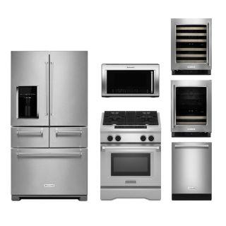 KitchenAid KA-FD36FS-DF30FS-30OTR1000-24BI-FD