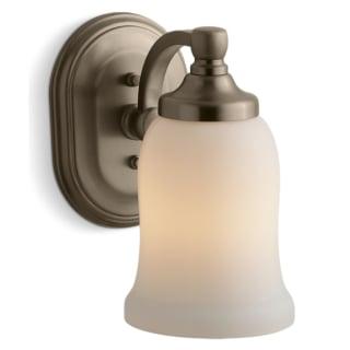 Kohler K 11421 Bv Brushed Bronze Single Light Wall Sconce