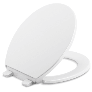 Kohler Slow Soft Close Round Closed Front Toilet Seat Cover Lid Bumpers Hardware