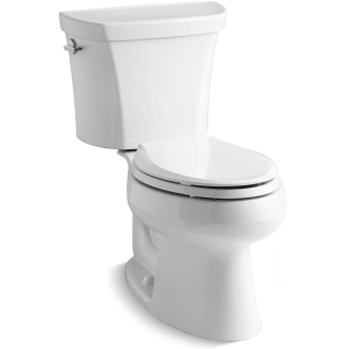 Kohler K 3988 0 White Wellworth Dual Flush Two Piece