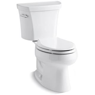 Kohler K 3998 0 White 1 28 Gpf Two Piece Elongated Toilet