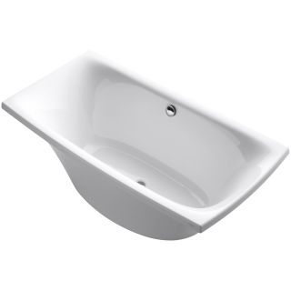 Kohler K 11344 0 White Escale Collection 72 Quot Free Standing