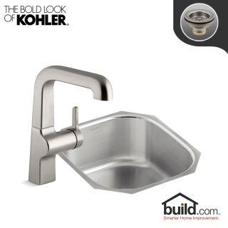 Kohler K-3336/K-6335-VS Vibrant Stainless Faucet Undertone ...