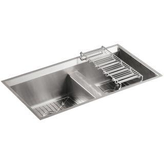 Kohler Stainless Steel Kitchen Sinks kohler k-3672 kitchen sink - build