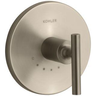 Kohler T14490-4-BL Purist Valve Trim Matte Black