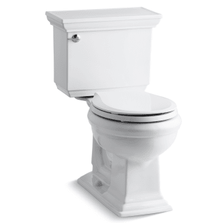Terrific Kohler K 3933 0 White Memoirs Stately 1 28 Gpf Two Piece Dailytribune Chair Design For Home Dailytribuneorg