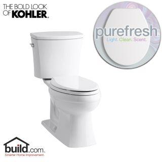 Kohler Purefresh K 3755 White Kelston 1 28 Gpf Elongated