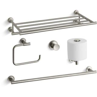Kohler Purist Best Accessory PackBN Brushed Nickel Purist Towel - Kohler bathroom accessories brushed nickel