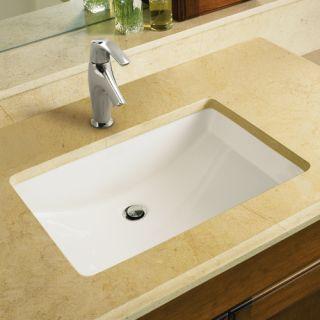 Kohler K 2214 0 White Ladena 18 3 8 Quot Undermount Bathroom