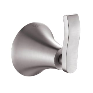 Polished Chrome Noanta 52387 WS Bath Collections 52387 Noanta Collection Double Robe Hook