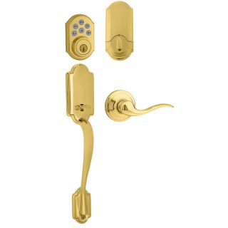 Kwikset 815anxtnl Lh 909 L03 Lifetime Polished Brass