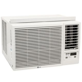 Lg 18 000 Btu Heat Cool Window Air Conditioner 1 000 Sq