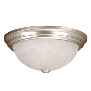 Millennium Lighting 565 Sn Satin Nickel 3 Light Flush