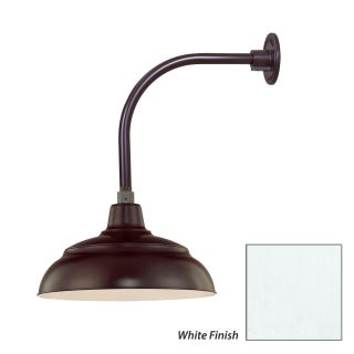 Millennium Lighting Undefined White R Series 1 Light Outdoor Wall Sconce With