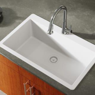 Miseno Mg3321t Iv Ivory Carolina 33 Single Basin Drop In