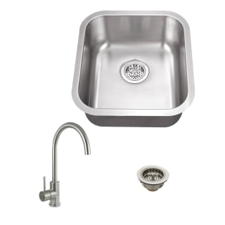 A thumbnail of the Miseno MSS2118C/MK003 Stainless Sink / Brushed Stainless Faucet