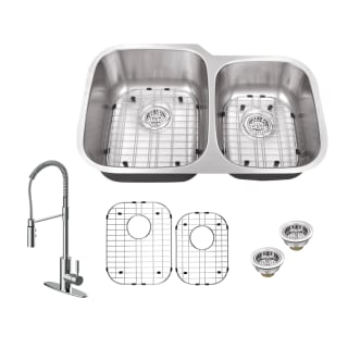 Miseno Mss3220c6040 Mk6557 St Ch Stainless Sink Chrome Faucet 32