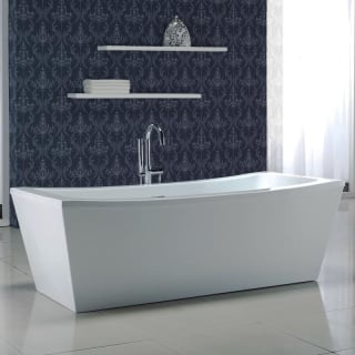 Miseno Mt7035fsr White 70 Quot Free Standing Soaking Bathtub