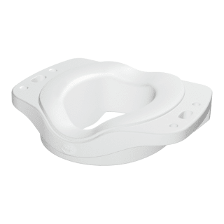 Moen Csidn7070 Glacier Locking Elevated Safety Toilet Seat