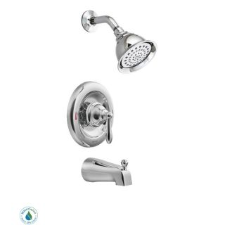 Moen 82496EP Chrome Posi Temp Pressure Balanced Tub and Shower