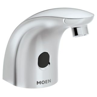 Moen 8558 chrome m power electronic touchless soap - Soap dispensers for commercial bathrooms ...
