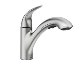 Moen 87039srs Spot Resist Stainless Medina Single Handle Kitchen Faucet With Pullout Spray Faucet Com