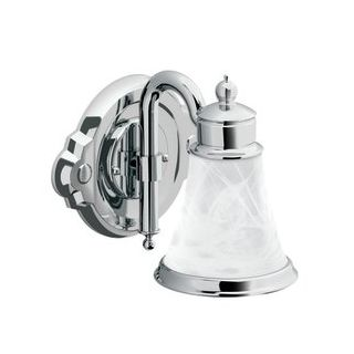 Moen csiyb9861ch chrome 9 wide victorian 1 light bathroom - Victorian bathroom lighting fixtures ...