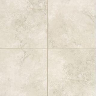 Mohawk industries 13372 ivory cream ivory cream porcelain for 18 inch tiles floor