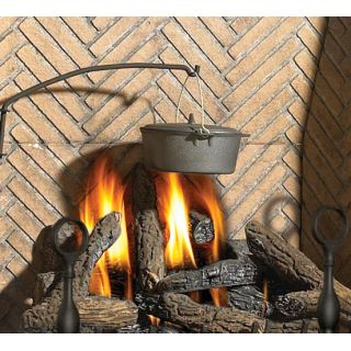 Napoleon cp90 black country crane and hearth pot for for Country home and hearth