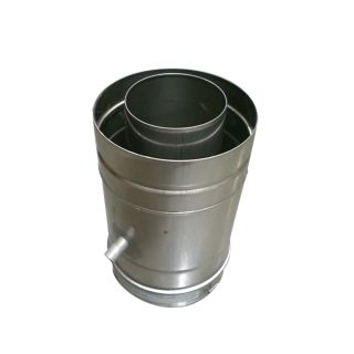 Noritz Cdt V Stainless Steel Concentric Vent Drain Tee For
