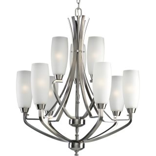 Progress Lighting P4439 09 Brushed Nickel Wisten Nine