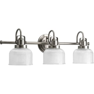Bathroom Vanity Light Shades progress lighting p2992-81 antique nickel archie 3 light bathroom
