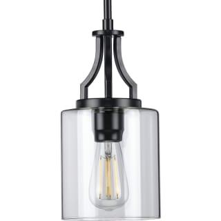 Progress Lighting P500208 031 Matte Black Lassiter 6 Wide Mini Pendant Lightingdirect Com