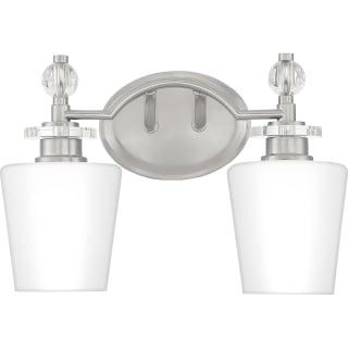 Quoizel Hs8602c Polished Chrome Hollister 2 Light 14 Wide Bathroom Vanity Light Lightingdirect Com