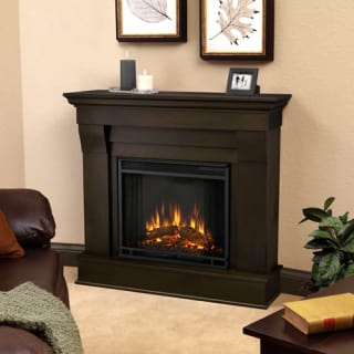 Real Flame Chateau Electric Fireplace Mantel Dark Walnut 5910E DW