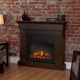 Real Flame Crawford Slim-Line Electric Fireplace Heater - 8020E-W