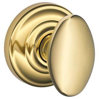 Schlage F170sie605and Polished Brass Siena Single Dummy