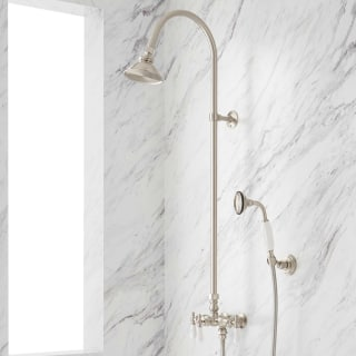 Exposed Pipe Shower System With Tub Faucet.Signature Hardware 902867