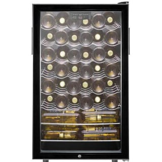 42 Bottle 20 Inch Wide Built In Single Zone Wine Cellar With Freestanding Capability