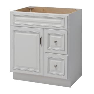 Sunny Wood Rl3021d A Fresh White With, 30 Inch Bathroom Vanity Cabinet Only