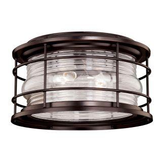Vaxcel lighting t0166 burnished bronze hyannis 2 light - Exterior surface mounted light fixtures ...