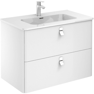 Ws Bath Collections Concert 80 Wg Gloss White Concert 32 Wall Mounted Single Basin Vanity Set With Engineered Wood Cabinet And Ceramic Vanity Top Faucetdirect Com