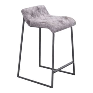 Incredible Zuo Modern 100411 Father Counter Stool Vintage White Creativecarmelina Interior Chair Design Creativecarmelinacom