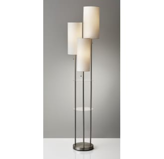 Adesso 4305 22 Brushed Steel Trio 3 Light 68 Quot High Floor