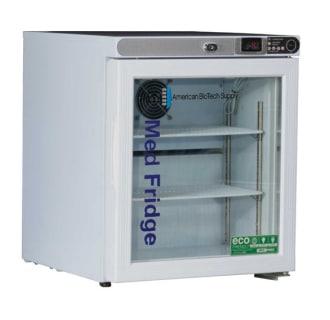 1.0 Cu. Ft. Premier Freestanding Glass Door Refrigerator