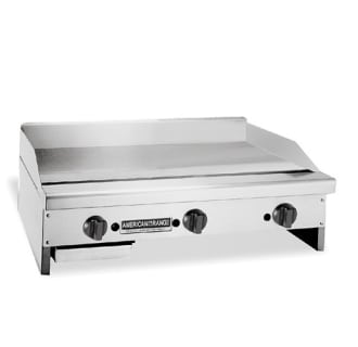 36 Inch Heavy Duty Thermostat Griddle with 1 Inch Thick Plates