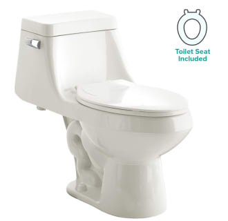 American Standard 2862 056 020 White Fairfield Elongated