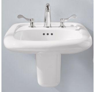 American Standard 0958 008ec 020 White Murro 21 1 4 Quot Wall