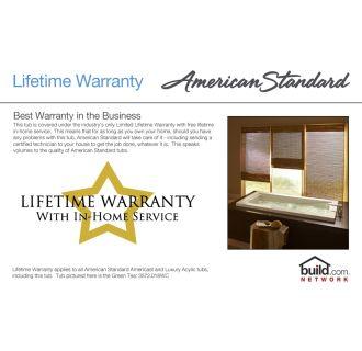 American Standard 2391 202tc 020 White Princeton 60